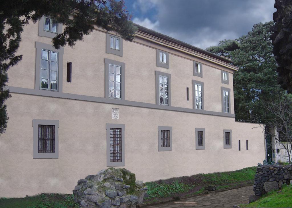 Render restyling facciata edificio storico Appia