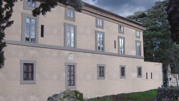 Render restauro facciata